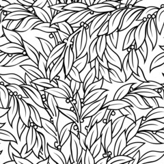 Laurel seamless background