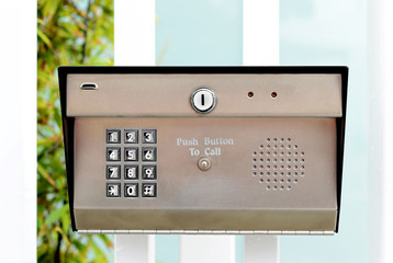 Keypad entry