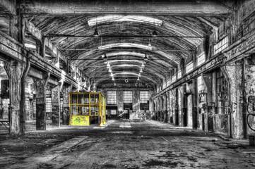 Old derelict warehouse