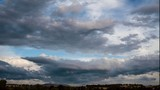 Timelapse of storm clouds
