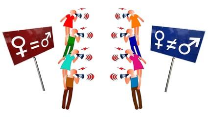 Débat sur l'égalité des sexes