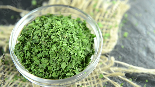 Heap of dried Parsley (loopable)