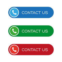 Contact us button set