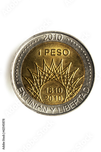 Poster Peso argentino Argentine money 阿根廷比索 بيزو أرجنتيني