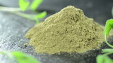 Sage Powder (loopable video)