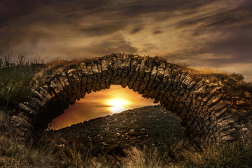 Archaic Castle Bridge