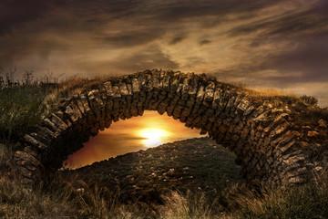 Archaic Castle Bridge