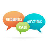 Frequently Asked Questions Talk Bubble