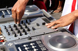 Dj Deck And Hands