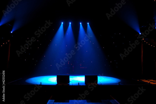 Floodlit Stage