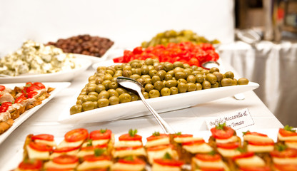 Snacks With Olives