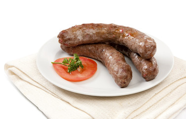 Traditional South African Boerewors