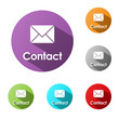 CONTACT BUTTONS (details customer service support help us)