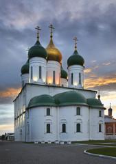Успенский собор в коломенском Кремле. Россия