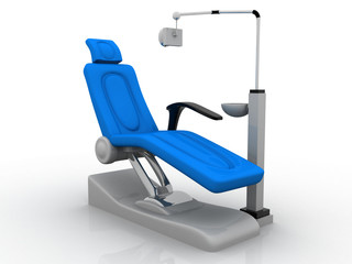 Modern Dentist Chair.