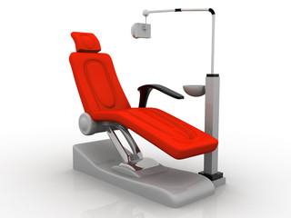 Modern Dentist Chair.