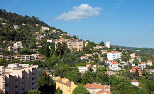 Grasse - panoramic view of city