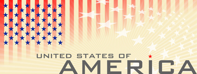 Banner USA National Day
