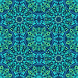 Seamless pattern of mosaic