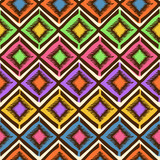 Ethnic tribal geometric seamless pattern