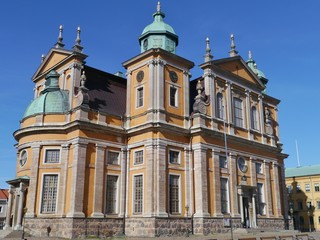 The historic cathedral of Kalmar in Sweden