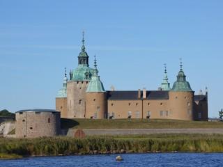 The historic castle of Kalmar in Sweden