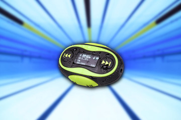 Portable mini MP3 waterproof resistance