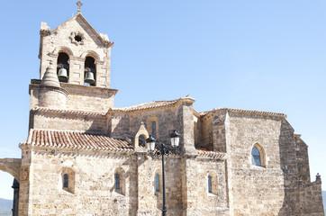 Parochial church of San Vicente Martir and San Sebastián. It  h