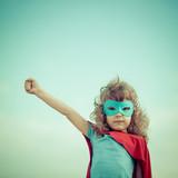 Fototapety Superhero kid