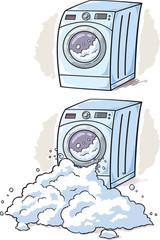 Washing Machine cartoon
