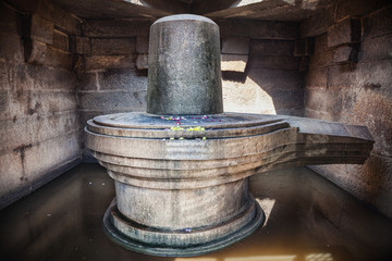 Shiva Lingam in Hampi