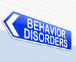 Behavior disorders concept.