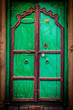 Wooden old door vintage background