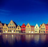 Fototapety European town. Bruges (Brugge), Belgium