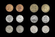 Set of coins of insular countries