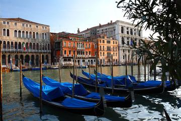 Gondola sul Canal Grande, Venice