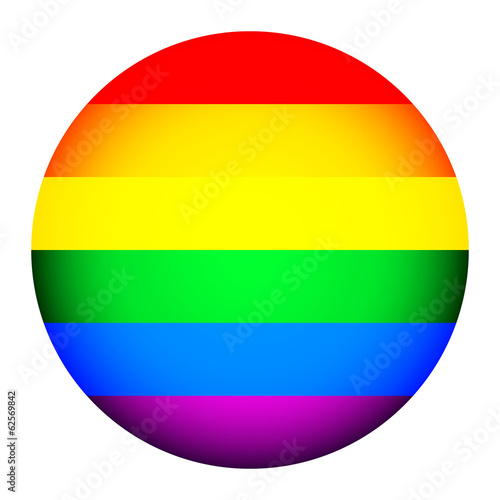 Gay flag button