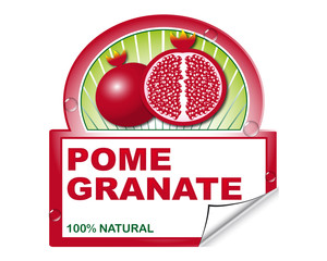 Pomegranate's label for marketplace