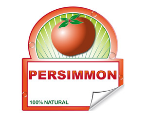 Persimmon's label for marketplace