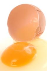 L'œuf cassé
