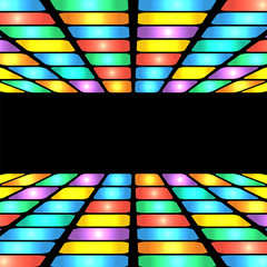 abstract geometric pattern.colorful background of colored rectan