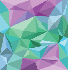 Angular background wallpaper in blue green and purple