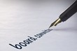 Fountain pen writing Board committees