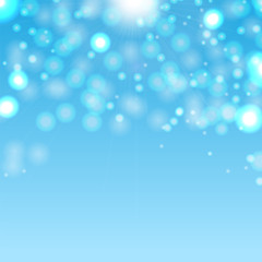 Abstract blurred background.Place for your text.Sparkling design