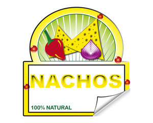 Nachos's label for marketplace