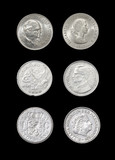 Set of coins of monarchical countries
