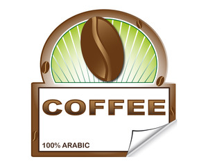 Coffee's label for marketplace