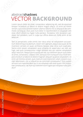 Red background for design