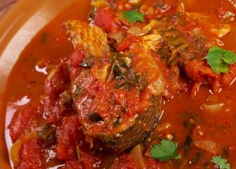 Hraime- Libyan prepared fish