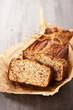 Homemade bread cake.